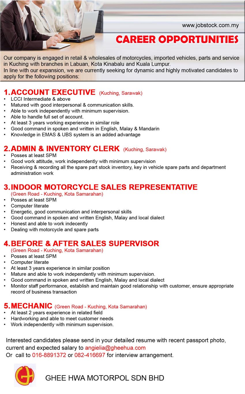 advertisement detail ghee hwa motorpol sdn bhd 471387084729