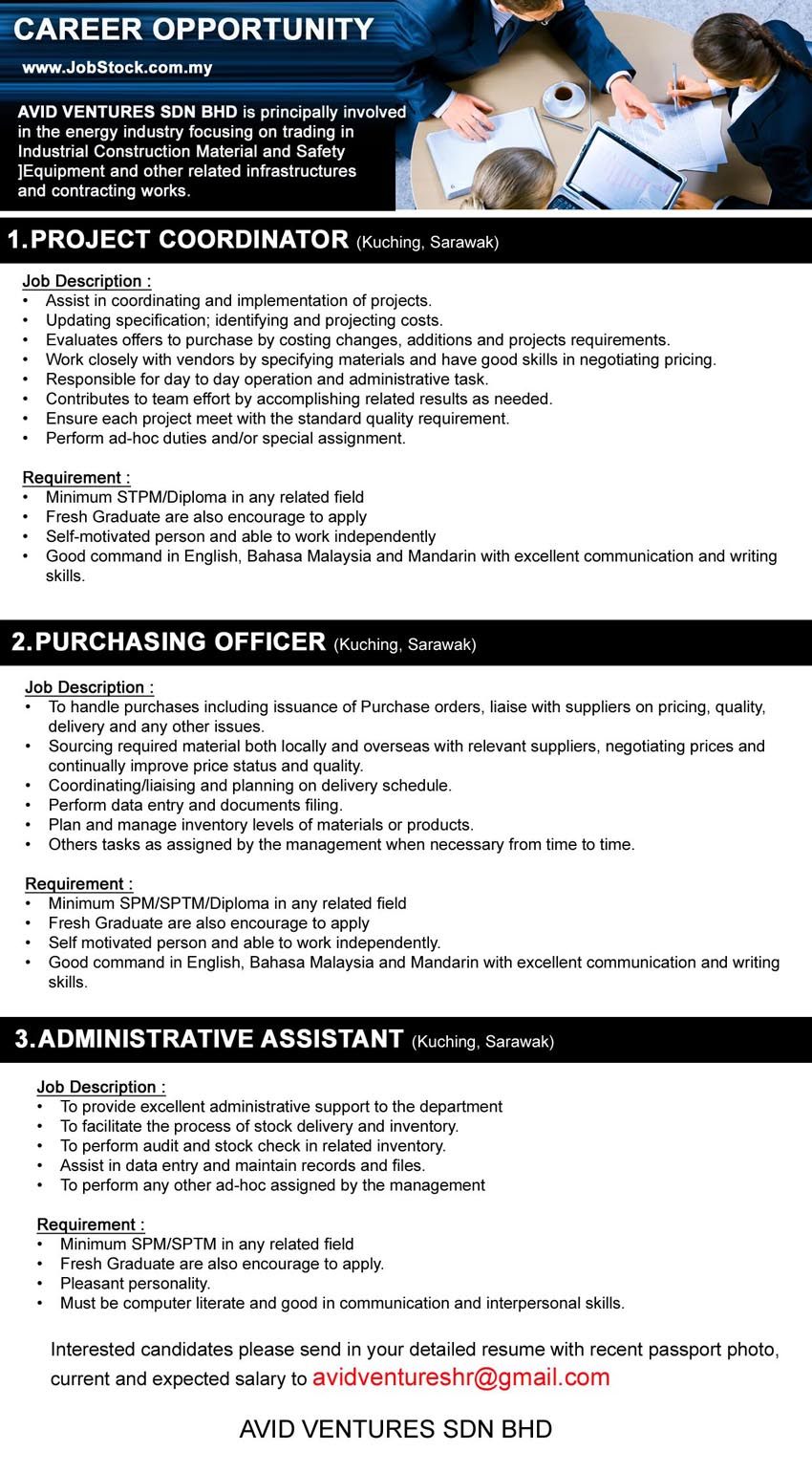 Administrative assistant salary free image – Purchasing Officer Job Description
