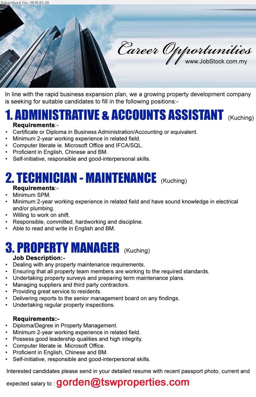 Advertisement Detail - ADVERTISER (Property Developement